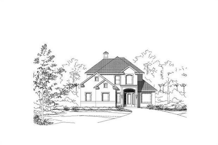 Main image for house plan # 16471