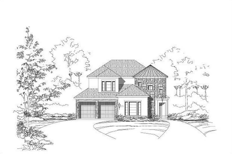 Main image for house plan # 16466