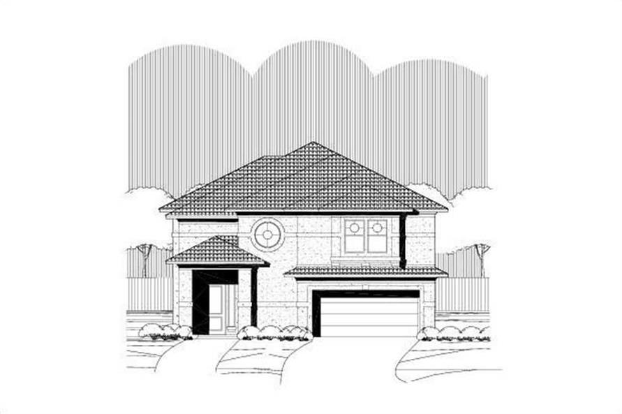 Main image for house plan # 16569