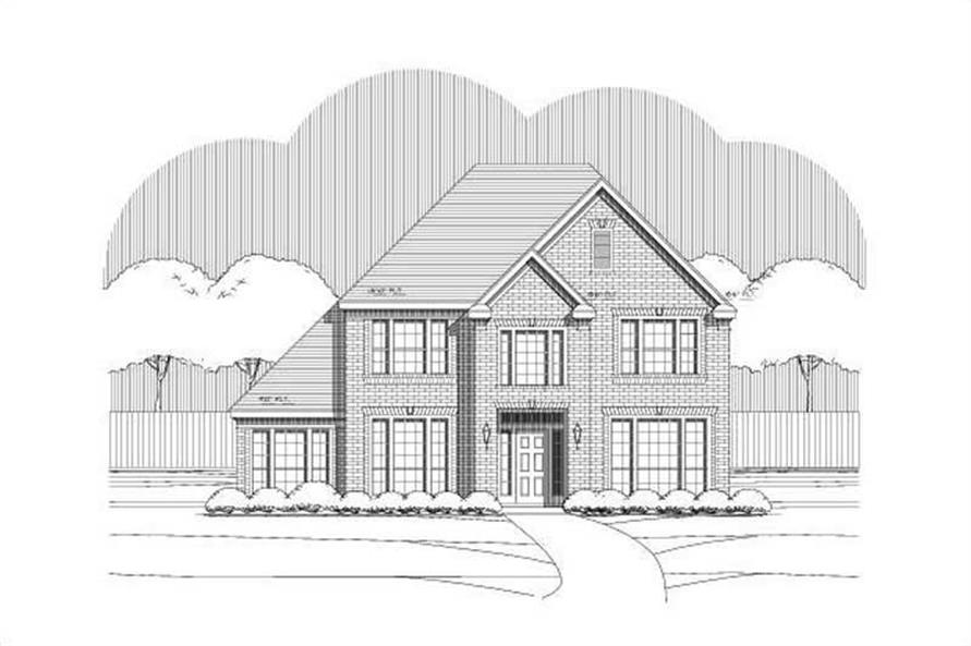 Main image for house plan # 16563