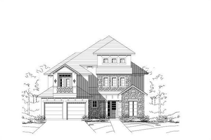 Main image for house plan # 16460