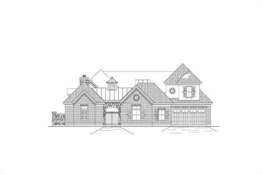 Main image for house plan # 16389