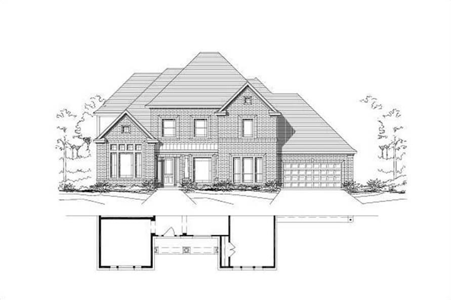 Main image for house plan # 16550