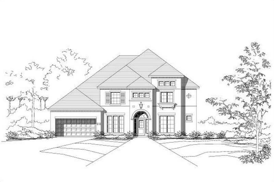 Main image for house plan # 16564