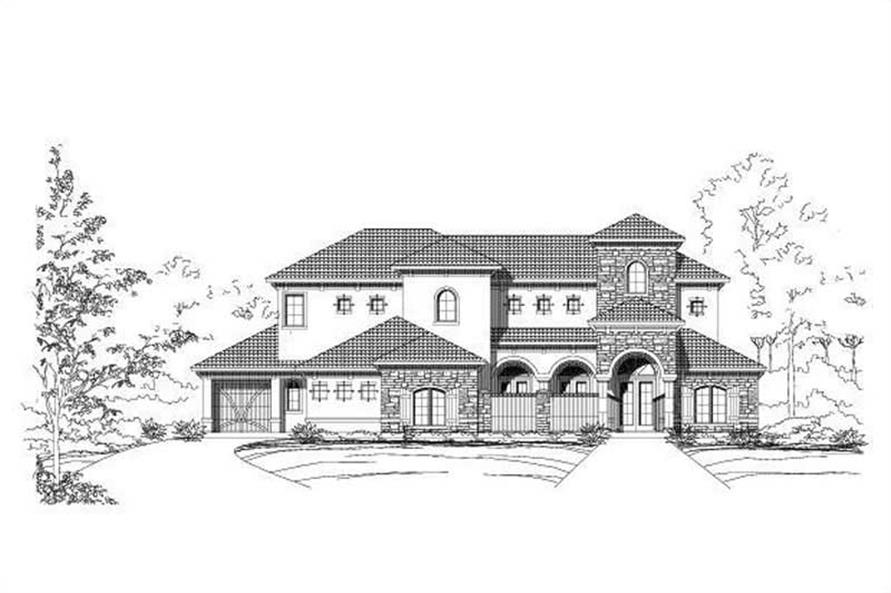 Main image for house plan # 16489