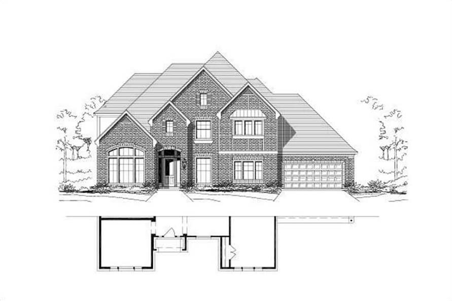 Main image for house plan # 16545