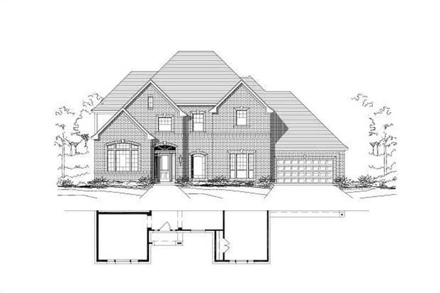 Main image for house plan # 16543