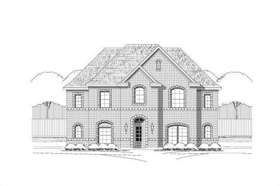 Main image for house plan # 16424