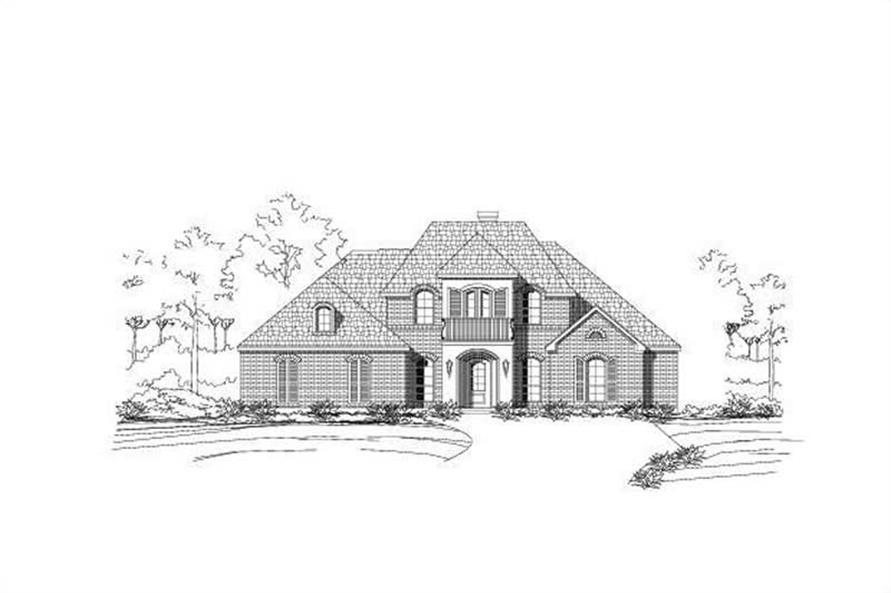Main image for house plan # 16419