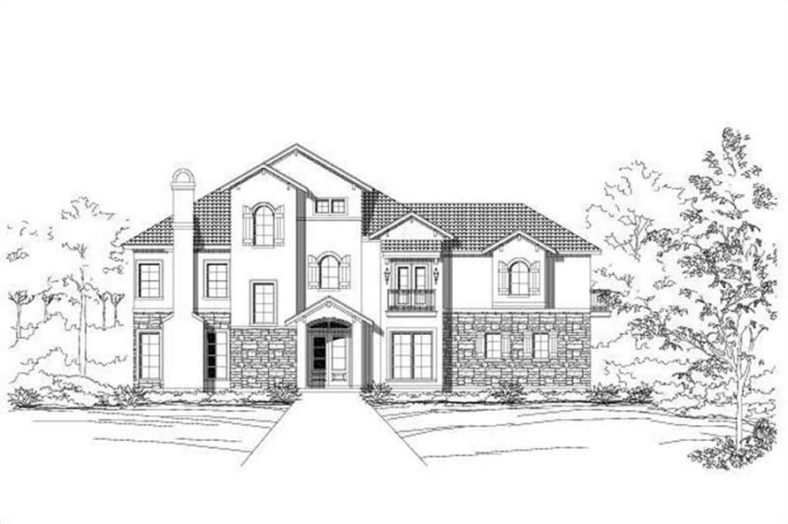 Main image for house plan # 16408