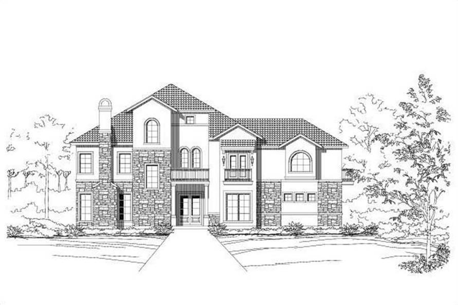 Main image for house plan # 16407
