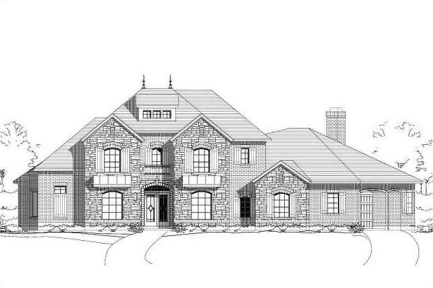 Main image for house plan # 16403
