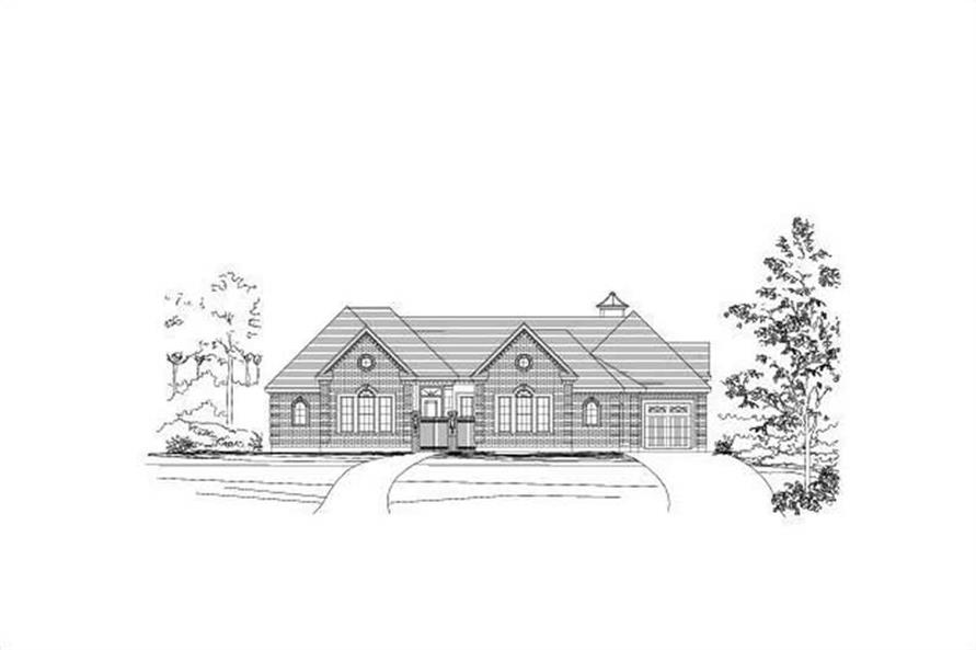 Main image for house plan # 16398