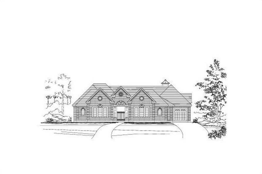 Main image for house plan # 16397