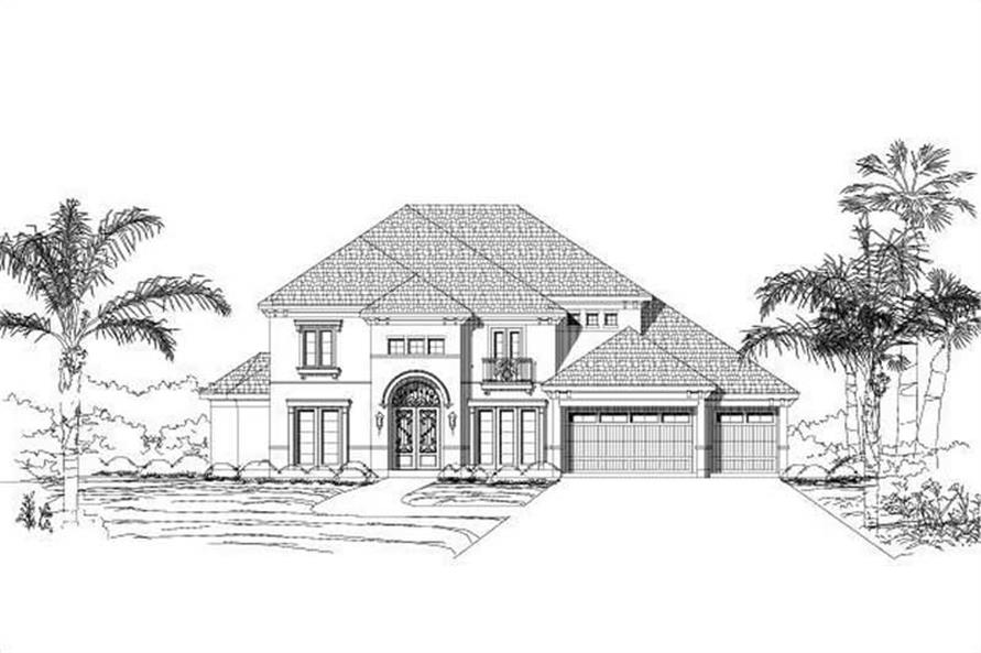 Main image for house plan # 16474
