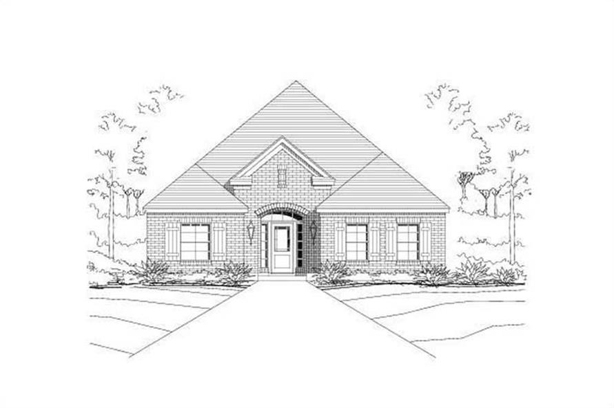 Main image for house plan # 16376