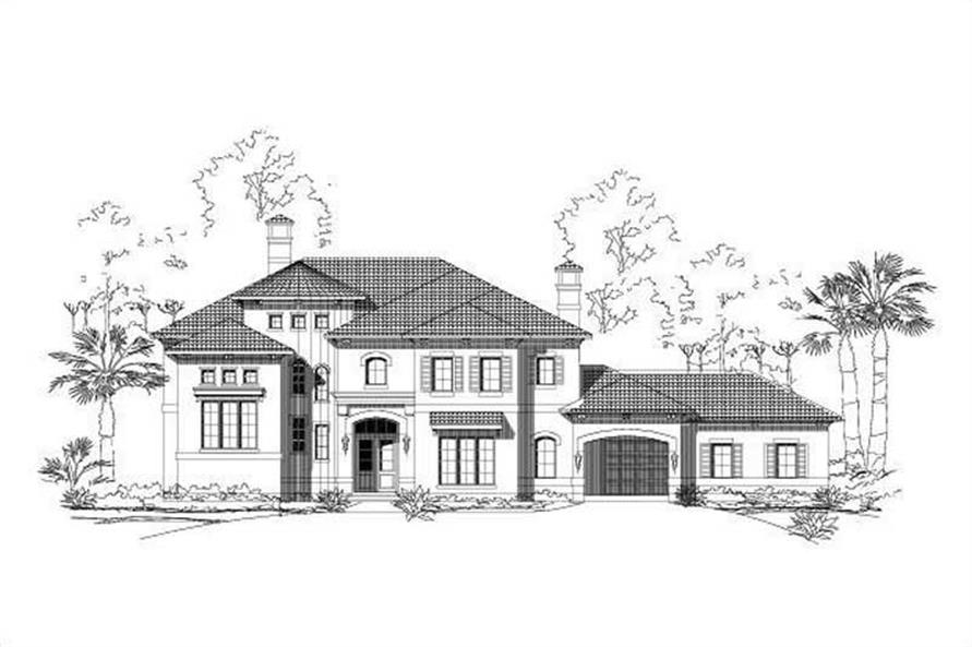 Main image for luxury house plan # 16357