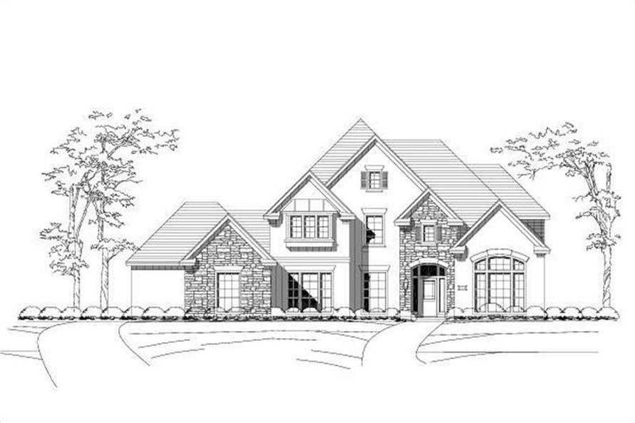 Main image for house plan # 16308