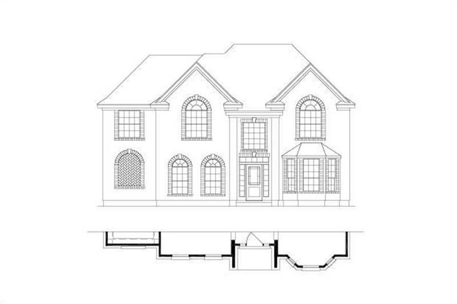 Main image for house plan # 16559