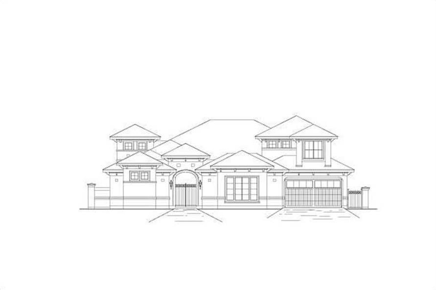 Main image for house plan # 16391