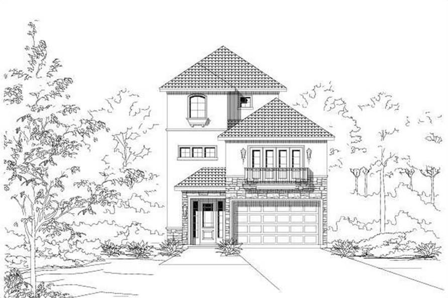 Main image for house plan # 16470
