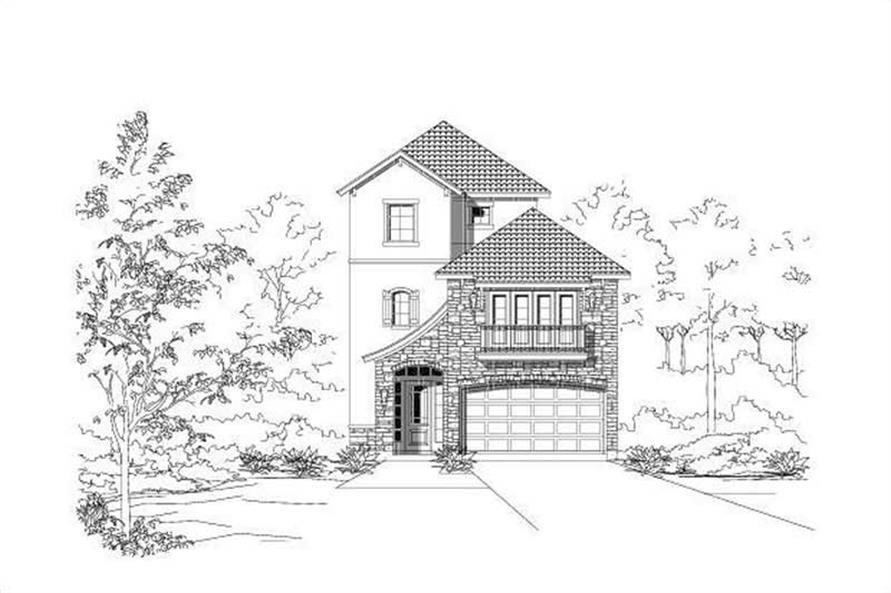 Main image for house plan # 16467