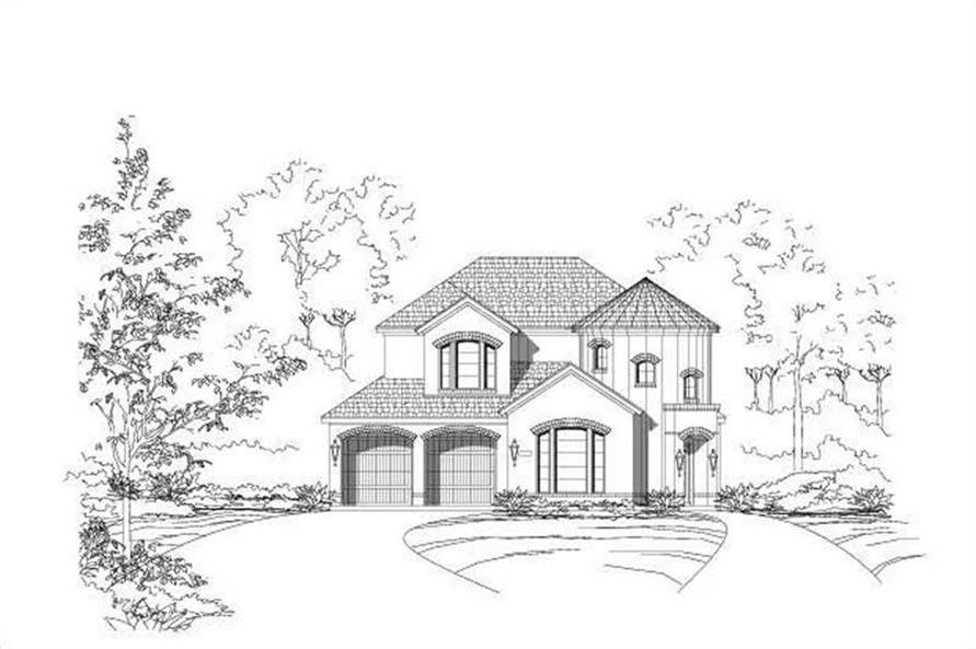 Main image for house plan # 16457