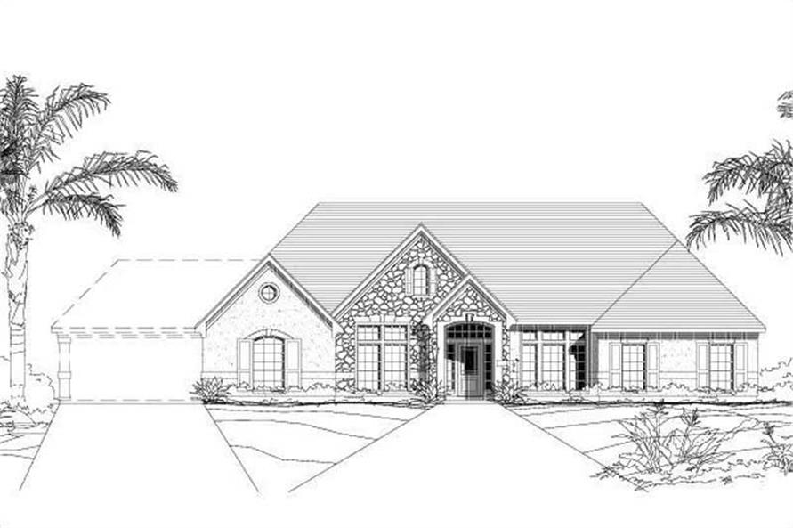 Main image for house plan # 16455