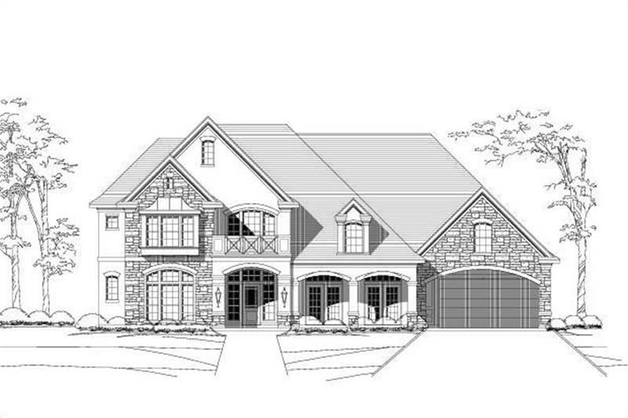 Main image for house plan # 16561