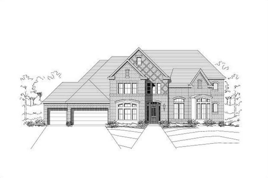 Main image for house plan # 16298
