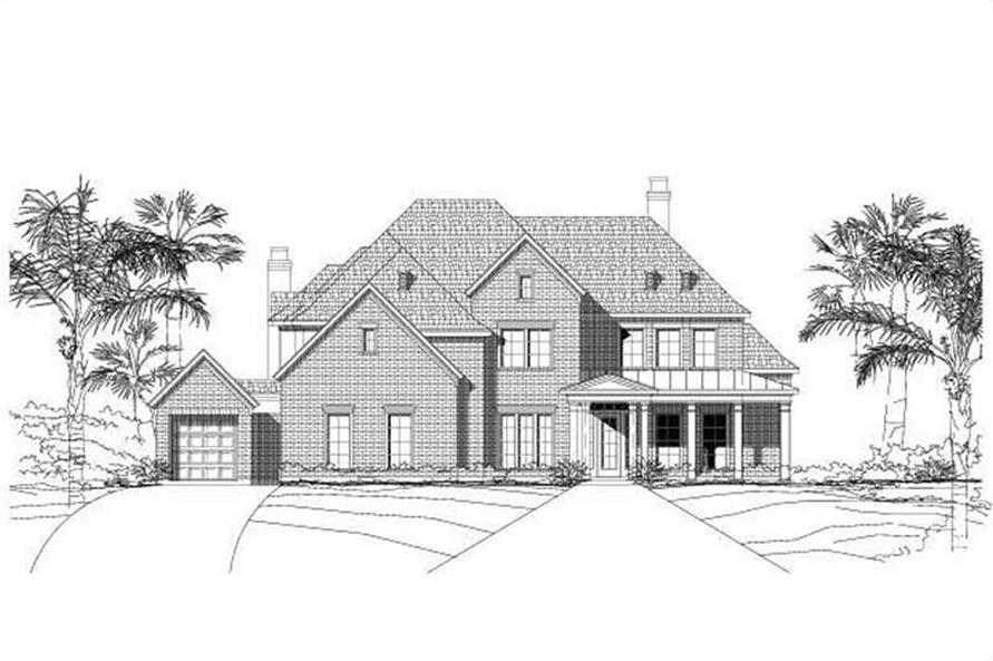Main image for house plan # 16198
