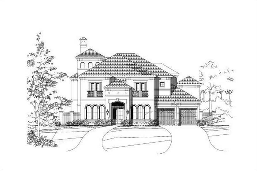 Main image for house plan # 16187