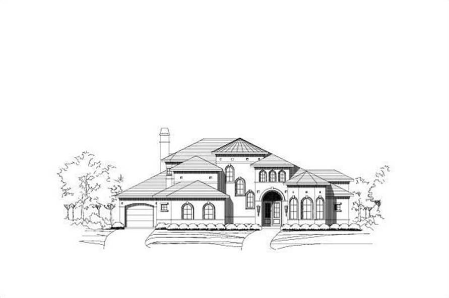 Main image for house plan # 16222