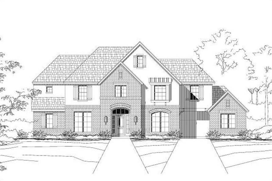 Main image for house plan # 16231