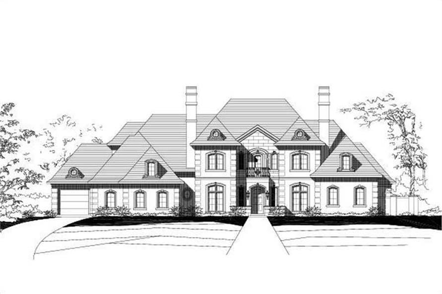 Main image for house plan # 16303