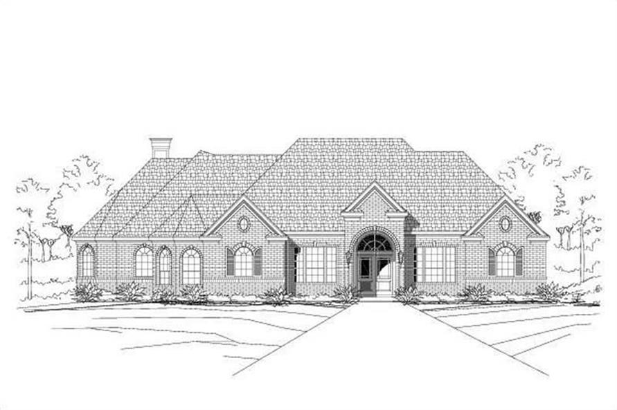 Main image for house plan # 16416