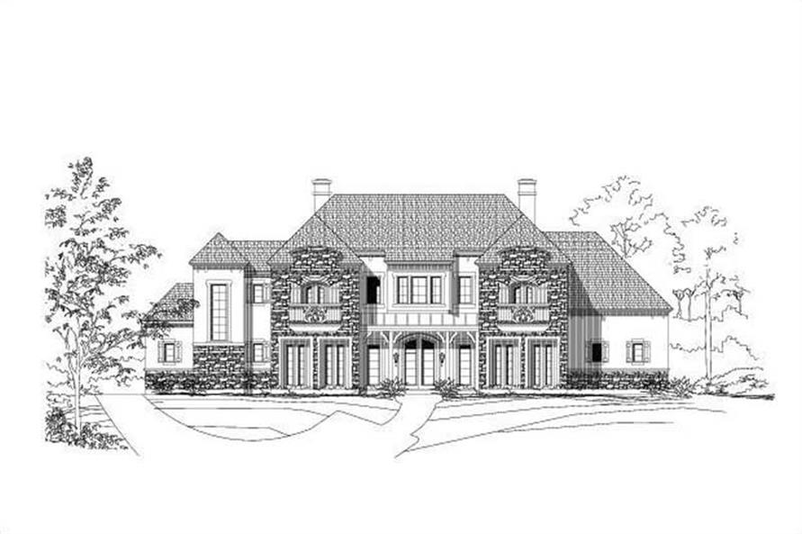 Main image for house plan # 16300