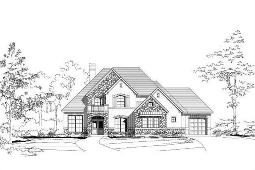 Main image for house plan # 16328