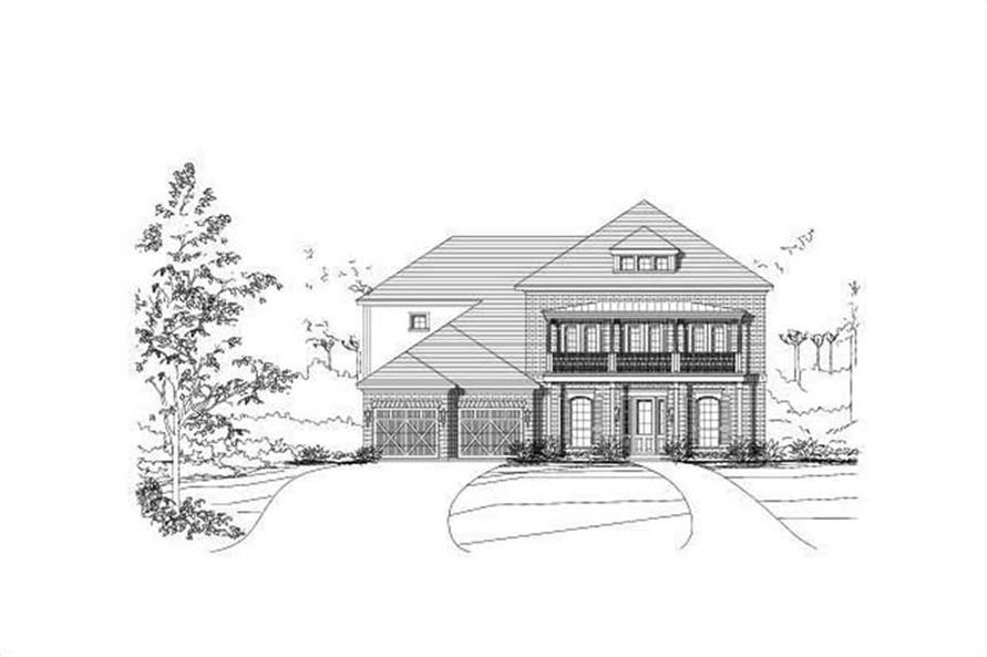 Main image for house plan # 16435