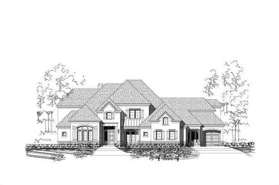 Main image for country home plans # 16324