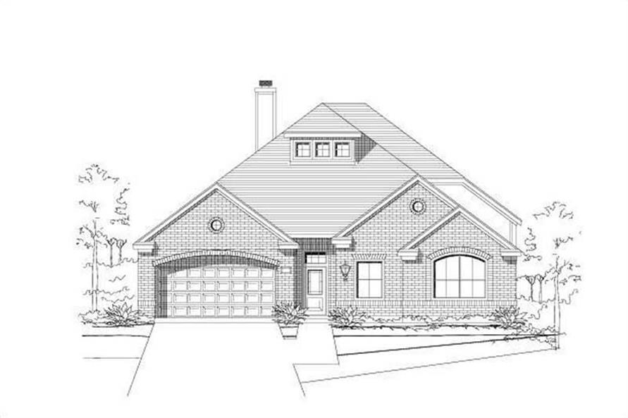 Main image for house plan # 16320
