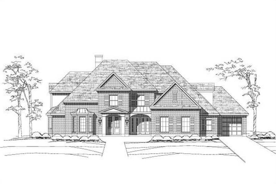 Main image for house plan # 16307