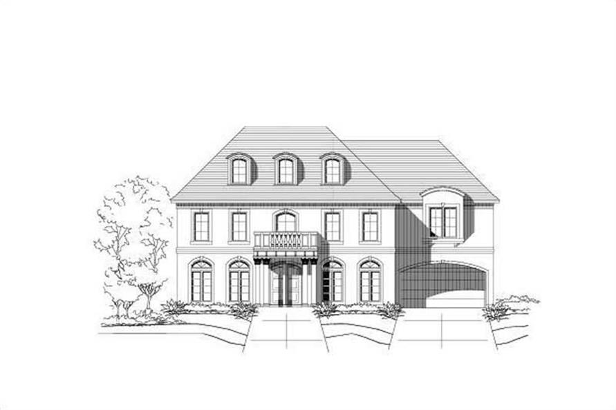 Main image for house plan # 16236