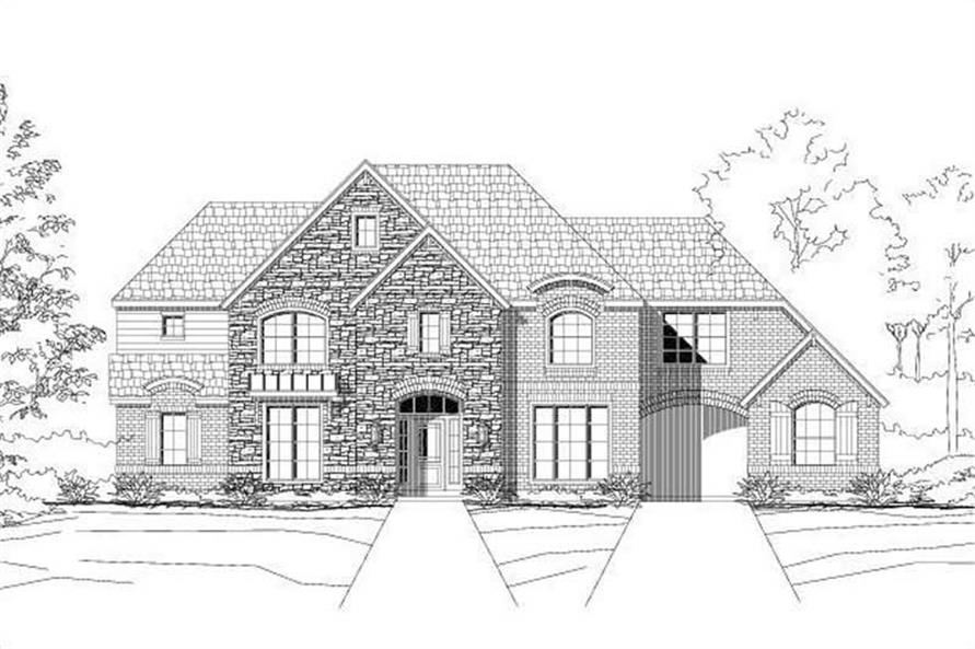 Main image for house plan # 16232