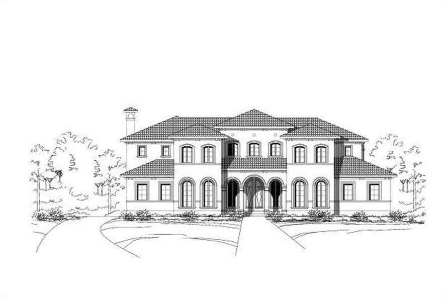 Main image for house plan # 16299