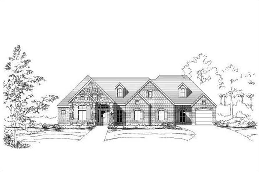 Main image for house plan # 16227