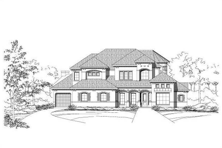 Main image for house plan # 16203