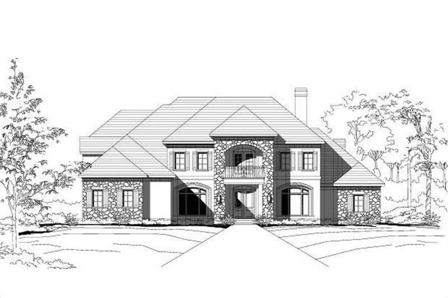 Main image for house plan # 16141