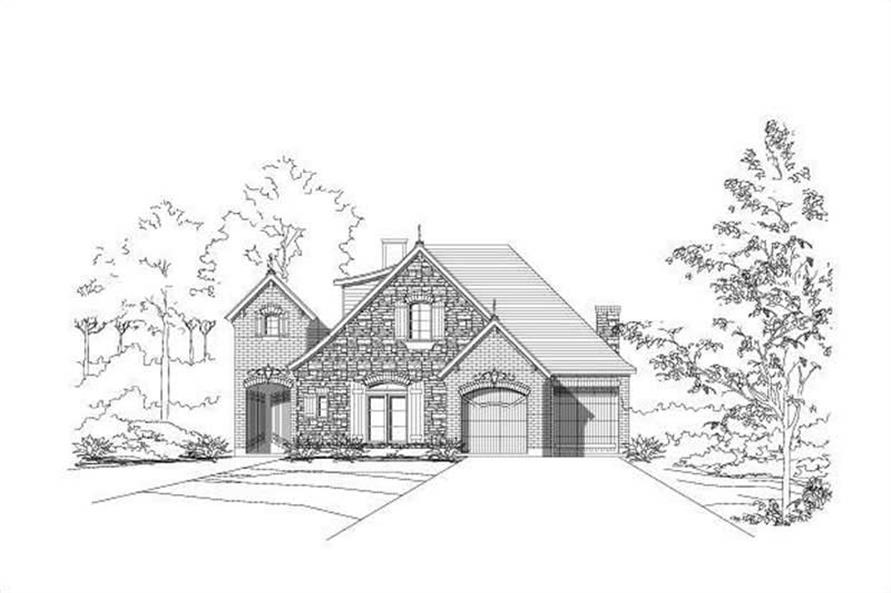 Main image for house plan # 16099