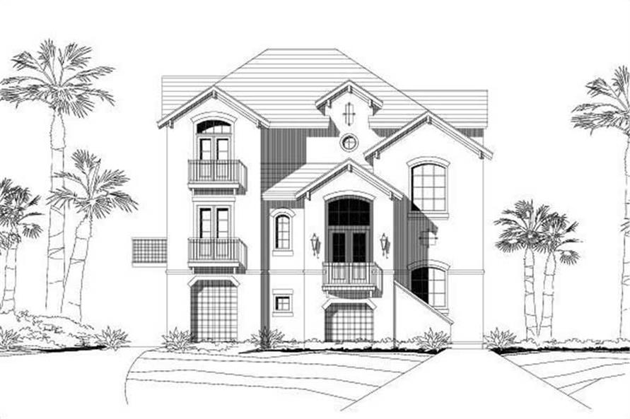 Main image for house plan # 16218